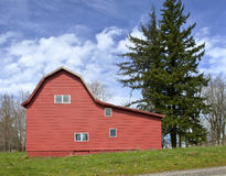 Red Barn Oregon. Stock Image