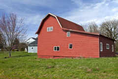 Red Barn Oregon. Royalty Free Stock Photography