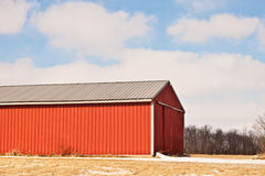 Red Barn Siding Royalty Free Stock Photography