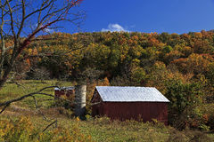 Red Barn Royalty Free Stock Photo