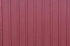 Red Barn Slat Siding Stock Image