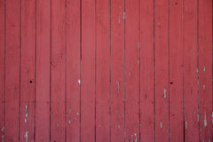 Red barn wall. Close up of the side of a red barn Stock Images