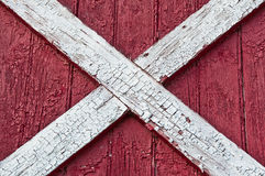 Red barn wood surface. Wall of red barn wood surface Royalty Free Stock Photo