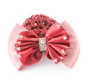 Red barrette Royalty Free Stock Photo