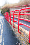 Red barrier Royalty Free Stock Image