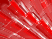 Red Bars Background Means Geometric Or Stock Images