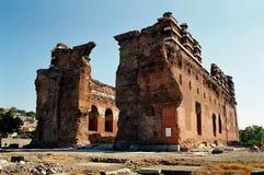 Red Basilica in Bergama Stock Photos