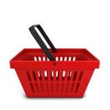 Red basket Royalty Free Stock Photo