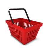 Red basket Royalty Free Stock Photography