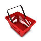 Red basket Stock Photography