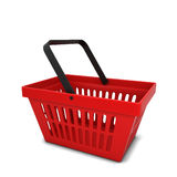 Red basket Royalty Free Stock Images