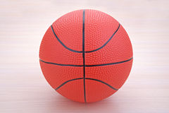 Red basketball ball Royalty Free Stock Image