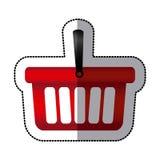 Red baskets icon image. Design,  illustration Stock Photos