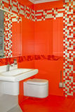 Red bath Royalty Free Stock Images