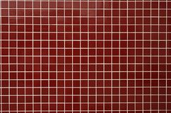 Red bath tiles Stock Image