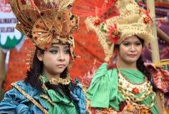 Red batik Stock Image