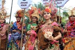 Red batik Stock Photo