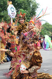 Red batik Royalty Free Stock Image