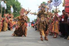 Red batik Royalty Free Stock Images