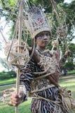 Red Batik Stock Images