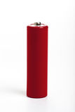 Red battery Stock Images