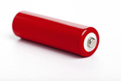 Red battery Stock Photos