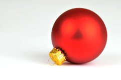 Red bauble Stock Photo