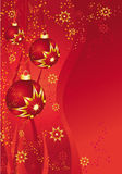 Red bauble Stock Image