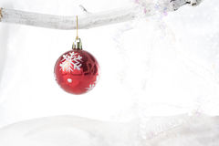 Red Bauble Royalty Free Stock Image