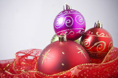 Red Bauble still life Royalty Free Stock Photo
