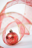 Red Bauble still life Royalty Free Stock Photos
