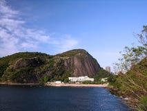 Red beach. Rio de Janeiro - Brazil royalty free stock photos