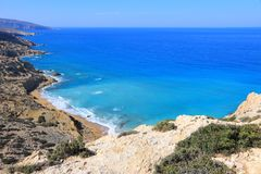 Red Beach, Crete Royalty Free Stock Photo