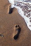 Red Beach Santorini Stock Photography