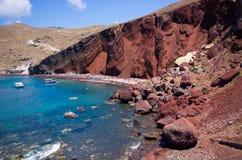 Red beach of Santorini, Greece Royalty Free Stock Photography