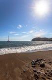 Red beach, Santorini, Greece Royalty Free Stock Image