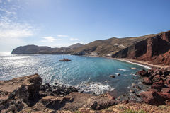 Red beach, Santorini, Greece Royalty Free Stock Photos