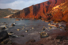 Red beach,Santorini, Greece Royalty Free Stock Image