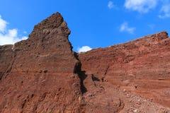 Red Beach, Santorini Royalty Free Stock Image