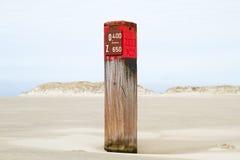 Red Beachpole Stock Photos