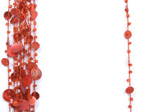 Red beads Royalty Free Stock Photo
