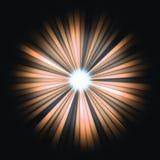 Red Beams of light: shining star in the dark. Large resolutin Stock Photos