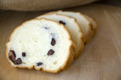 Red bean bread royalty free stock photo