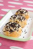 Red Bean Buns Stock Image