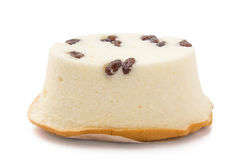 Red bean cheese cake Royalty Free Stock Photos