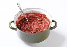 Red bean chili Stock Image