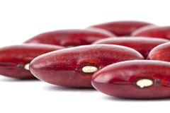 Red bean isolated on white Royalty Free Stock Images