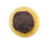 Red bean paste on japanese pancake Stock Photography