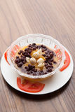 Red bean pumpkin soup Royalty Free Stock Image