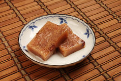 Red bean rice cake royalty free stock photography